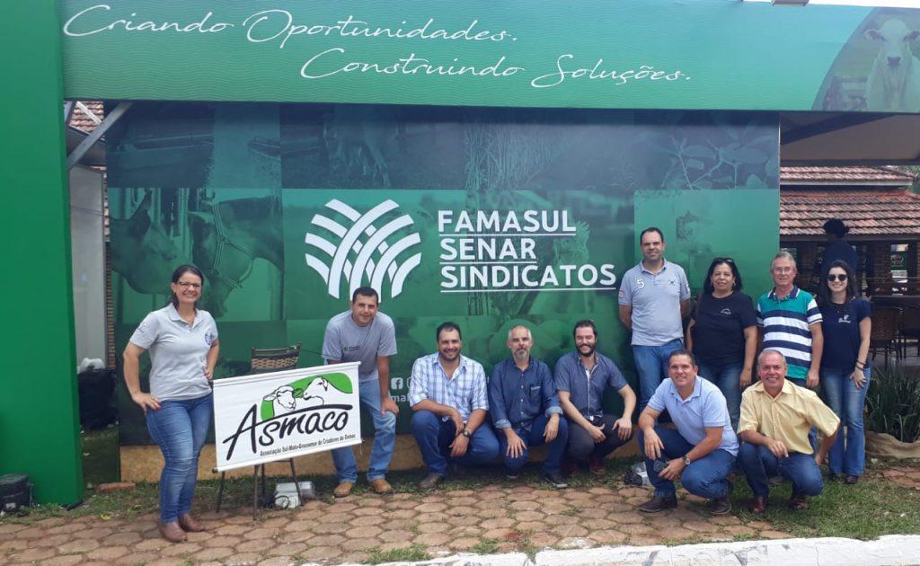 Grupo reunido após discussão sobre a implantação da ferramenta SOCO no arranjo produtivo de carne ovina da região.