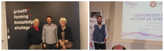 À esquerda: One Stop Ram Shop e BM Accounting, Nova Zelândia (2017); À direita: Royal Academy of Engineering- RAeng, Londres, Inglaterra (2017)